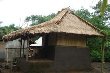 Lombok traditionsl house