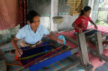 Womens made weaving