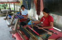 womens and weaving