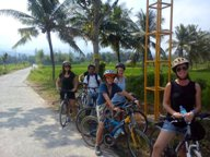 lombok biking tour